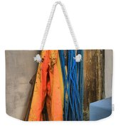 Gear On The Salmon Boat Weekender Tote Bag