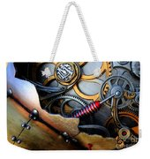 Geared For Art Weekender Tote Bag by Bob Christopher