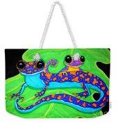 Geckos Weekender Tote Bag