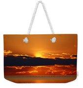 Geese Line The Horizon Weekender Tote Bag