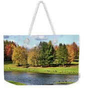 Geese Sanctuary Weekender Tote Bag