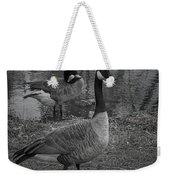 Geese Together  Weekender Tote Bag