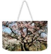 Geese Under Flowering Tree Weekender Tote Bag