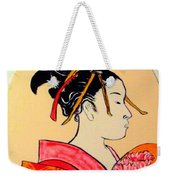 Geisha In The House Of Pleasure Weekender Tote Bag