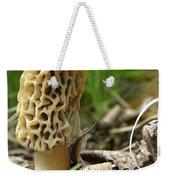 Gem Of The Forest - Morel Mushroom Weekender Tote Bag