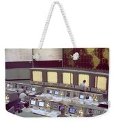 Gemini Mission Control Weekender Tote Bag by Nasa/Science Source