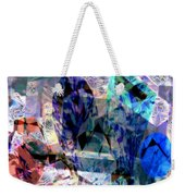 Gems Of Ice Weekender Tote Bag