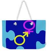 Gender Conundrum Weekender Tote Bag