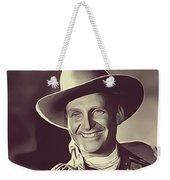Gene Autry, Vintage Actor/singer Weekender Tote Bag