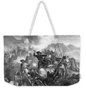 General Custer's Death Struggle  Weekender Tote Bag by War Is Hell Store