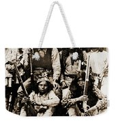 General George Cook Apache Army Weekender Tote Bag
