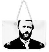 General Grant Black And White  Weekender Tote Bag