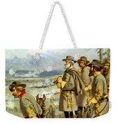 General Lee At The Battle Of Fredericksburg Weekender Tote Bag