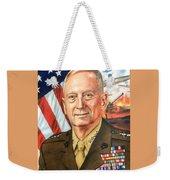 General Mattis Portrait Weekender Tote Bag