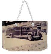 General Motor Truck Trailer Weekender Tote Bag