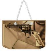 General Patton's Model 1873 Colt 45 Revolver  Weekender Tote Bag