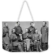 General Sherman And His Staff  Weekender Tote Bag by War Is Hell Store