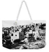 General View Of Bethlehem 1800s Weekender Tote Bag