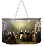 General Washington Resigning His Commission Weekender Tote Bag by War Is Hell Store