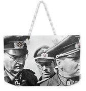 Generalfeldmarschall  Erwin Rommel And Staff Number 1 North Africa 1942 Color Added 2016 Weekender Tote Bag