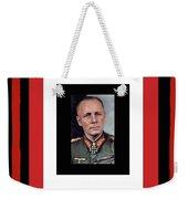 Generalfeldmarschall  Erwin Rommel  In Color Circa 1942 Frames Added 2016 Weekender Tote Bag