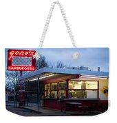 Gene's Drive In Weekender Tote Bag