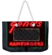 Gene's Hamburgers  Weekender Tote Bag