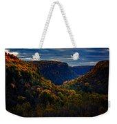 Genesee River Gorge Weekender Tote Bag
