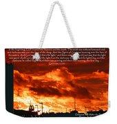 Genesis 1-1-31 Weekender Tote Bag
