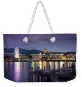 Geneva By Night  Weekender Tote Bag