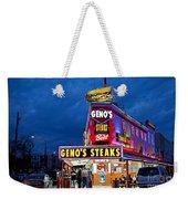 Geno's Steaks South Philly Weekender Tote Bag