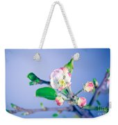 Gentle Apple Tree Flowers Weekender Tote Bag