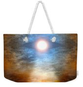 Gentle Mantra Om Light Glowing Into The Sea Weekender Tote Bag
