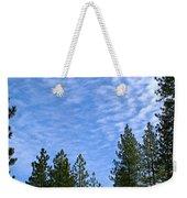 Gentle Sky Weekender Tote Bag