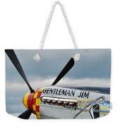 Gentleman Jim Weekender Tote Bag