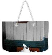 Gentleman's Washstand Weekender Tote Bag