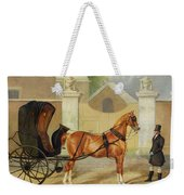 Gentlemen's Carriages - A Cabriolet Weekender Tote Bag
