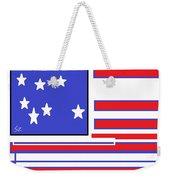 Geo Flag Weekender Tote Bag