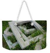 Geo In The Grass Weekender Tote Bag