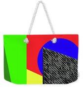Geo Shapes 3 Weekender Tote Bag