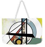 Geo Weekender Tote Bag