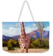 Geoffrey Giraffe Weekender Tote Bag