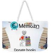 Geography Online Books Library  Weekender Tote Bag