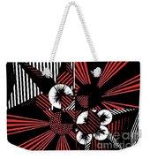 Geometric 8 Weekender Tote Bag
