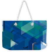 Geometric Composition  Weekender Tote Bag