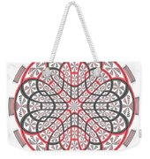 Geometric Mandala Weekender Tote Bag