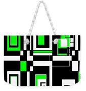 Geometric Pizazz 4 Weekender Tote Bag