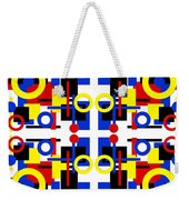 Geometric Shapes Abstract Square 2 Weekender Tote Bag