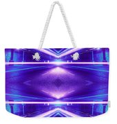 ec0cecc1f Geometric Street Night Light Pink Purple Neon Edition Weekender Tote Bag