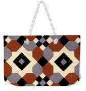 Geometric Textile Design Weekender Tote Bag